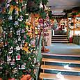 ケーテ・ウォルファルトのクリスマスショップ店内/リューデスハイム