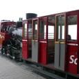 帰りの登山鉄道