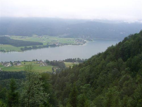 登山鉄道からの眺め