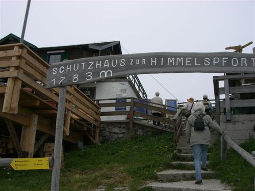 シャーフベルク頂上