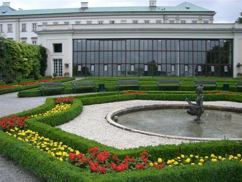 ミラベル庭園/ザルツブルク