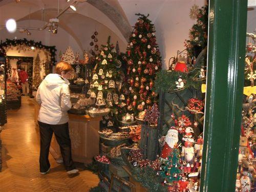 クリスマスグッズのお店