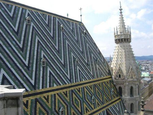 シュテファン寺院の屋根