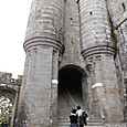 モン・サン・ミッシェル修道院/硝兵の門