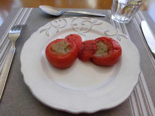 トマトのファルシ(詰め物)