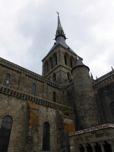 モン・サン・ミッシェル修道院/附属の教会