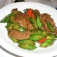 牛肉の豆醤炒め