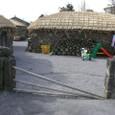 民俗村の入り口
