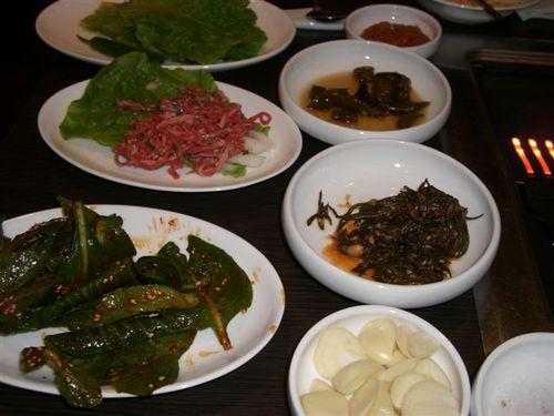 韓牛の焼肉