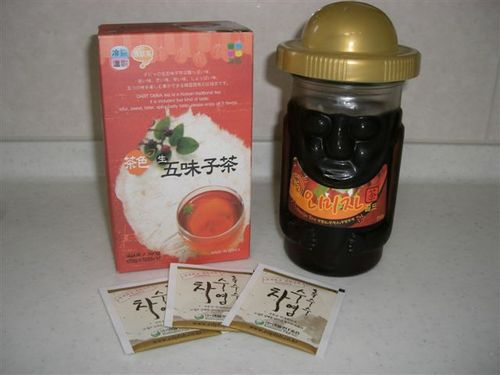 五味子茶とトウモロコシのひげ茶