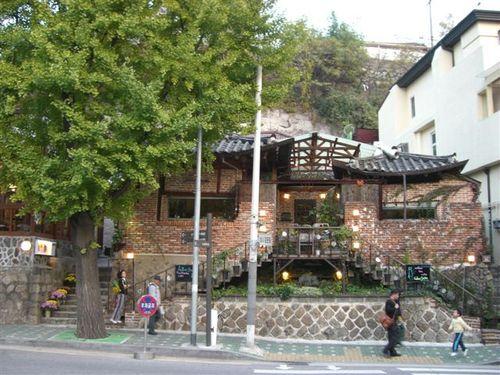 三清洞のカフェ