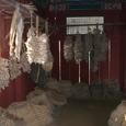 水刺間(スラッカン)の倉庫