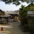 村の入り口付近
