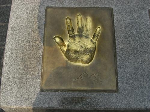 ペ・ヨンジュンssiの手形