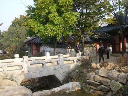 医女チャングムが王様と散歩した橋