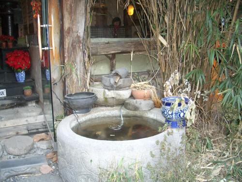 伝統茶屋の入り口