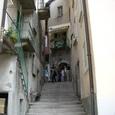 イソラベッラの路地階段