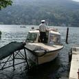 マジョーレ湖への足