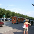 ストレーザの観光用汽車