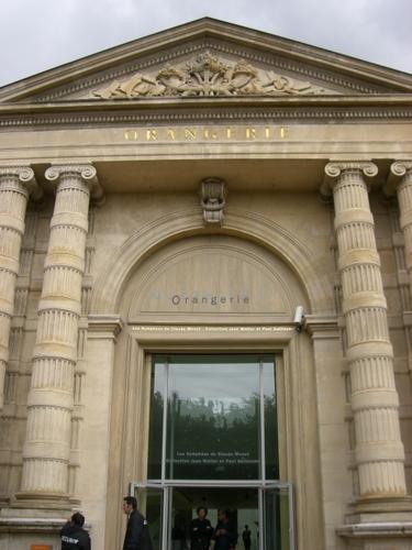 オランジュリー美術館・入口