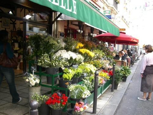 サンジェルマン・デ・プレの花屋さん