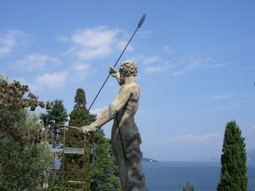 庭園の彫刻