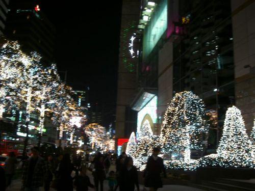 クリスマス・イルミネーション
