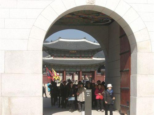 光化門から見える興礼門