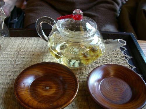 クッキ(菊)茶