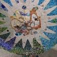グエル公園/百本柱の天井