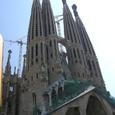 バルセロナ/サグラダ・ファミリア(聖家族)教会