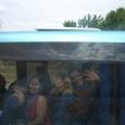 人懐っこいトルコ人たちのバス