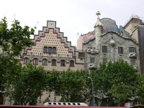 バルセロナ/カサ・バトリョ