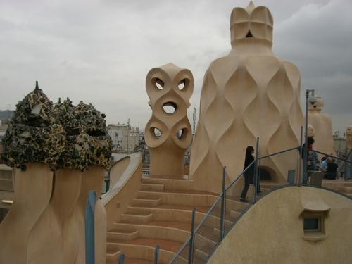 バルセロナ/カサ・ミラ