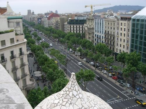 バルセロナ/グラシア通り
