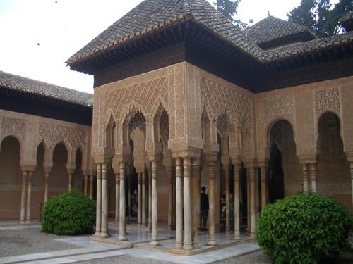 アルハンブラ宮殿/ライオンの宮殿