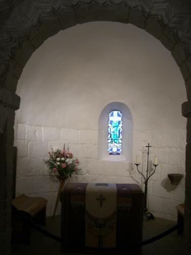 聖マーガレット礼拝堂内部