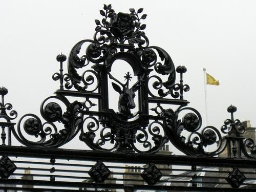 ホーリルード宮殿の門