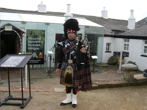スコットランドの衣装