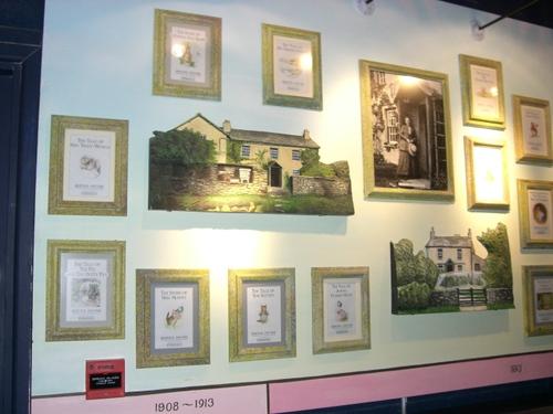 絵本の表紙展示